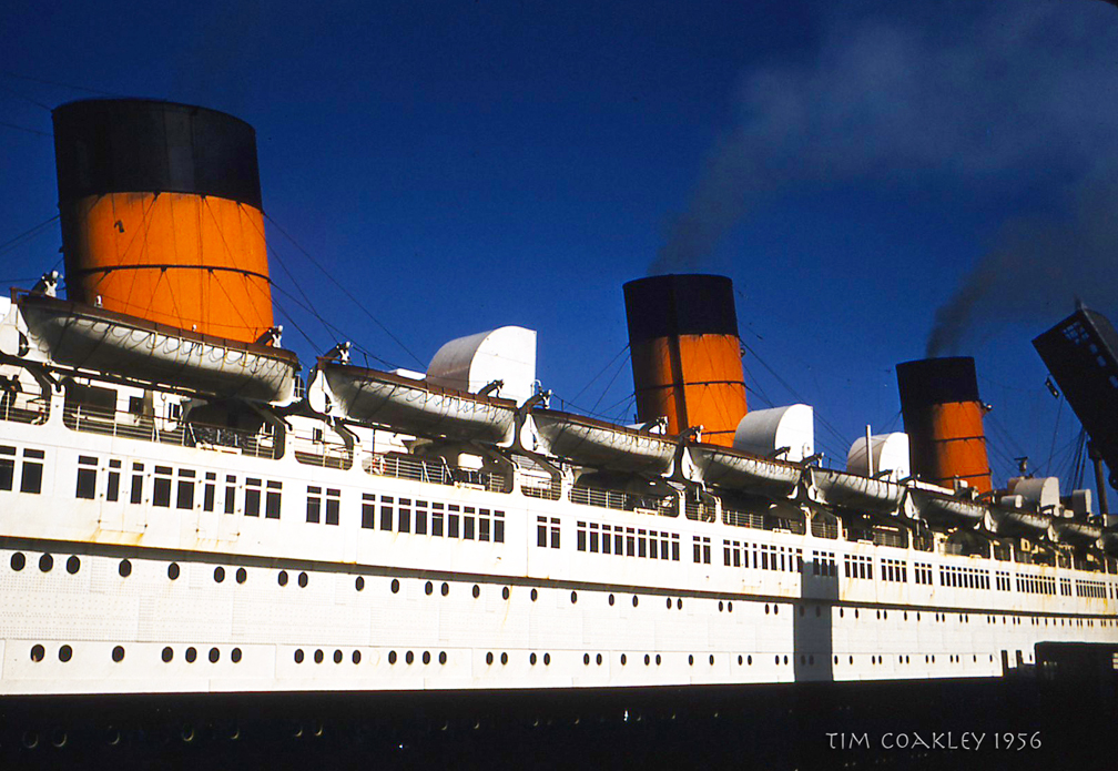 Queen Mary Ocean Liner History http://wavingordrowning.com/category/family/